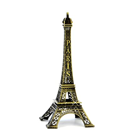 Metal Eiffel Tower Statue 6.25 Inch Eiffel Tower Replica