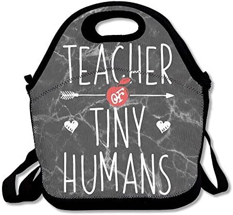 Teacher Of Tiny Humans Lunch Bag Insulated Lunch Box