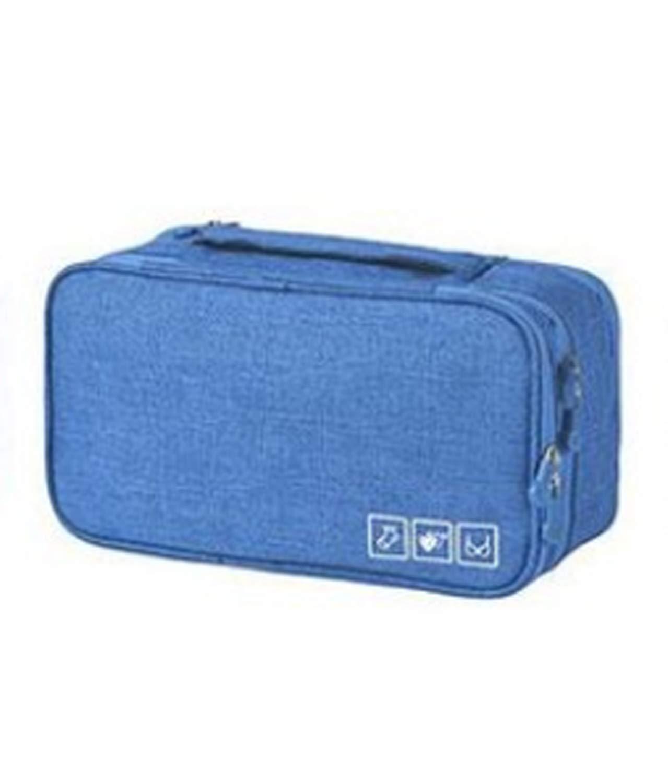 Travel Underwear Pouch 1 Pack Wallet Passport Money Cash Document Safe Keep Carry Holder Black