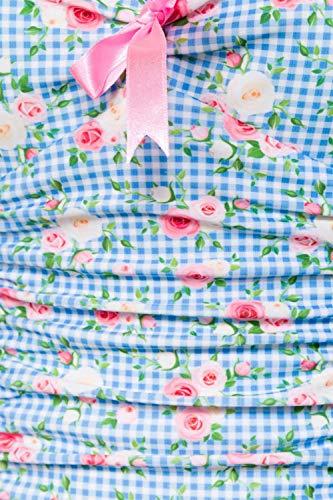 Belsira rosa Une weiß Blau Femme Pièce Maillot X5XxqrwO