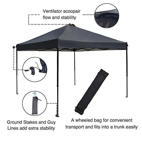 10x10 portable canopy - 6