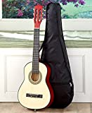 Kids Wood Guitar W/Case-Black