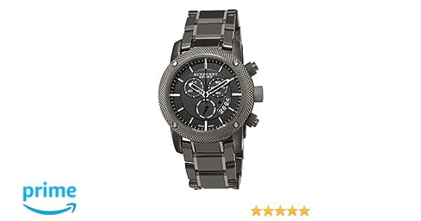 c8e19fdc24a Amazon.com  Burberry Men s BU7716 Chrono Sport Gray Chronograph Dial Watch   Burberry  Watches