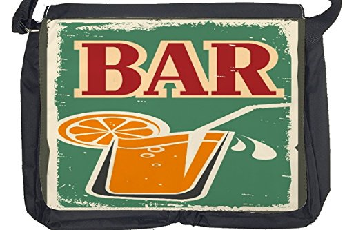Borsa Tracolla Bar Party Bar Stampato