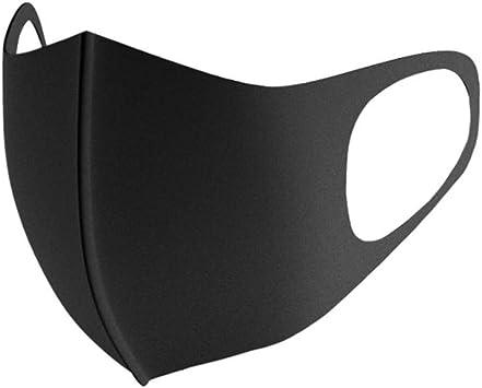 5PCS Bandana Face Reusable Cloth Protection Dust Washable Elastic String Cover Cotton Half Black Balaclava Cycling Motorcycle Fashion Fabric Breathable Rewashable Re-Useable