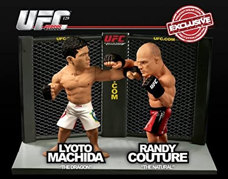 MINT BROCK LESNAR UFC SERIES 4 ROUND 5 COLLECTORS LIMITED EDITION FIGURE