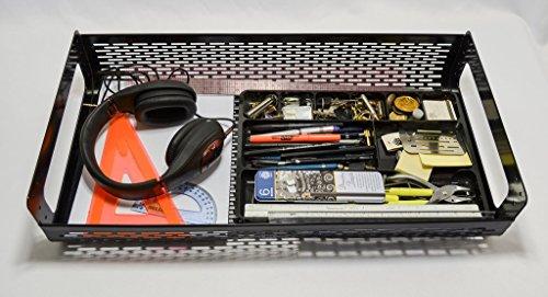 24'' Under Desk Hidden Shelf by Hidden Shelving Systems