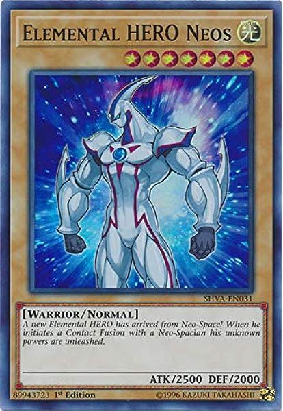 Elemental HERO Neos SHVA-EN031 1st Edition NM