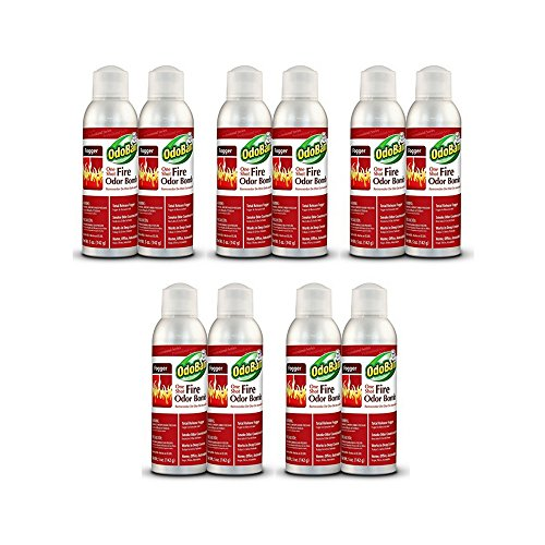 OdoBan One-Shot Fire Odor Bomb Fogger (10 Pack) by Europe Standard