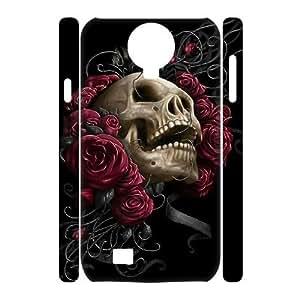 VNCASE Sugar Skull Phone Case For Samsung Galaxy S4 i9500 [Pattern-5]