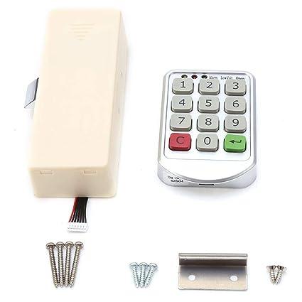 Haofy Cerradura Electrónica Bloqueo de Teclado Numérico Código para Puerta