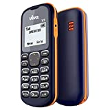 Viva V1 (Single SIM, 1.44 Inch Display, FM Radio, Blue & Orange)
