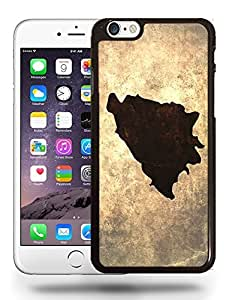 Bosnia and Herzegovina National Vintage Country Landscape Atlas Map Phone Case Cover Designs for iPhone 6