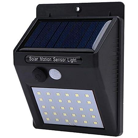 A Z Link LED Solar Power PIR Motion Sensor Wall Light 20 LED Outdoor Waterproof Energy Saving Street Yard Path Home Garden Security Lamp