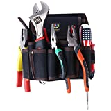 Tool Pouch with belt Bag Work Organizer Oxford Canvas Pocket for Parts and Tools 1 Pack