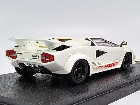 EIDOLON 1/43 KOENIG LAMBORGHINI COUNTACH Twin Turbo Type 3 body White Pearl (japan import): Amazon.es: Juguetes y juegos
