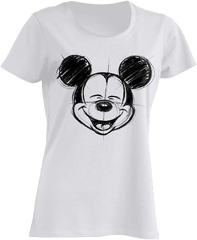 Disney Mickey Mouse Camiseta Mujer