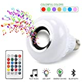 BSOD LED RGB Color Bulb Light E27 Bluetooth Control Smart Music Audio Speaker Lamps
