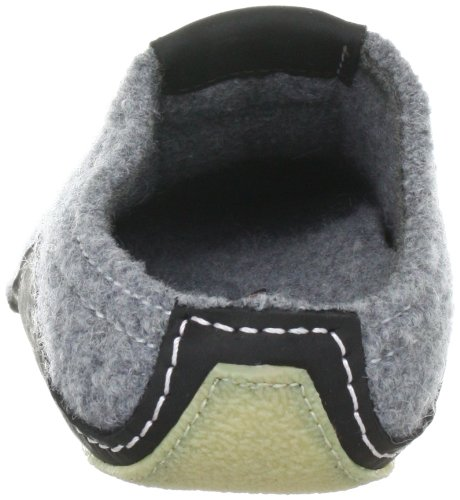 Haflinger Pocahontas 411001 Unisex-Erwachsene Pantoffeln Grau (anthrazit 4)