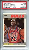 Michael Jordan 1987 Fleer Autographed AUTO Basketball Card #59 PSA DNA 8 ST