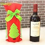 Christmas Wine Bottle Bag Dinn