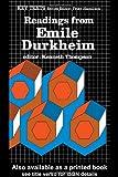 Readings from Emile Durkheim, , 0415043204