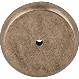 Top Knobs M1466 Aspen Collection 1.75 Inch Round Backplate, Light Bronze Finish