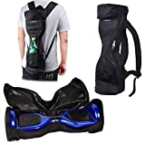 Waterproof Backpack to Carry and Store your Drifting Board (Two Wheels Smart Balance Board Scooter Electric Self Smart Drifting Board) - Mesh Pocket - Adjustable Shoulder Straps (Black)