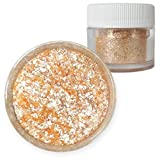 Bakell Soft Orange Food Grade Tinker Dust 4g Decorating Pearl Edible Glitter