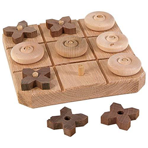 Keim's Wood Handcrafts Wooden Tic-Tac-Toe Game