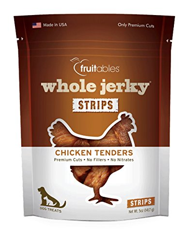 (Fruitables Whole Jerky Roasted Chicken Tenders Dog Treats)