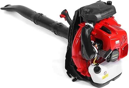 Soplador de Nieve, 2 Tiempos 85cc Tipo de Mochila Sopladora de Hojas Eléctrica con Motor de Gasolina Máquina Quitanieves Mano Quitanieves con Tanque de Aceite de Gran Capacidad para Limpiar Carreteras: Amazon.es: