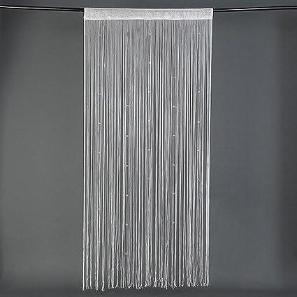 Beaded String Curtain Door Fly Screen Windows Divider Crystal Beads