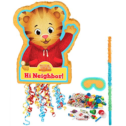 BirthdayExpress Daniel Tiger Party Supplies - Pinata Kit