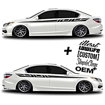 Car Body Decals Design