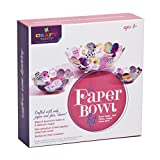 Craft-tastic Ann Williams Group Paper Bowl Kit, Craft Kit Makes 3 Different Sized Paper Bowls