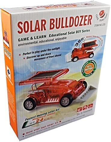 Educational Solar Bulldozer DIY Learning Toy Science Model Puzzle Assembly Kit