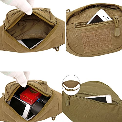 3688a89455b X-Freedom Military Tactical Waist Pack Unisex Fanny Pack Waist Bag Fishing Bags  Army Money