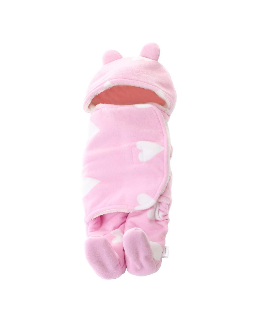 Baby Blanket Newborn Swaddle Wrap Warm Sleeping Bag Stroller Sleepsacks Zhhmeiruian