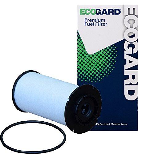 ECOGARD XF10321 Diesel Fuel Filter - Premium Replacement Fits Ram 1500 by EcoGard