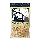 FloraCraft Decorative Nativity Straw 4 Ounce Natural