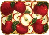 ORCHARD APPLES KITCHEN RUG - NON SKID BACK
