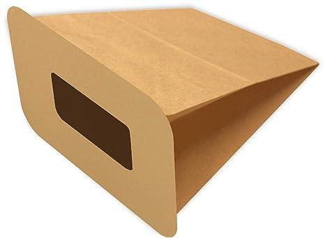 6 bolsas de aspiradora - PH 4 en papel apto para Philips P ...