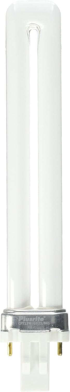 Box of 50 GX23 base 13 Watts Fluorescent Light  PL13W//1U//2P//841 Plusrite 4011