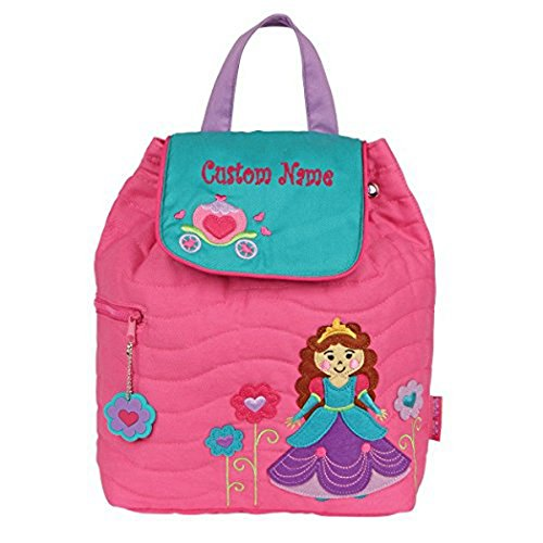 Personalized Pretty Princess Embroidered Backpack - CUSTOM NAME
