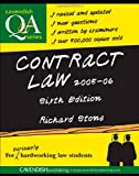 Contract Law Q&A, Richard Stone, 1859419607