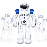 Vindany Inteligente RC Robot Juguete Control Remoto Gesto Robot Kit con programación Intelectual, Cantando y