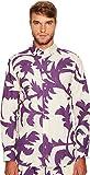 Vivienne Westwood  Men's Ballet Russe Two-Button Krall Shirt Purple Leaves Shirt