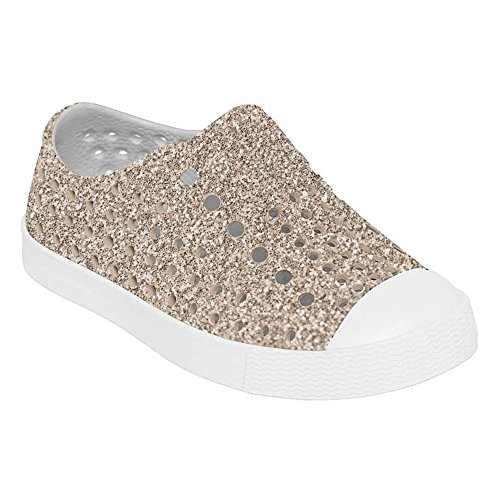 Native Kids Shoes Baby Girl S Jefferson Bling 7 M Us Metal Bling