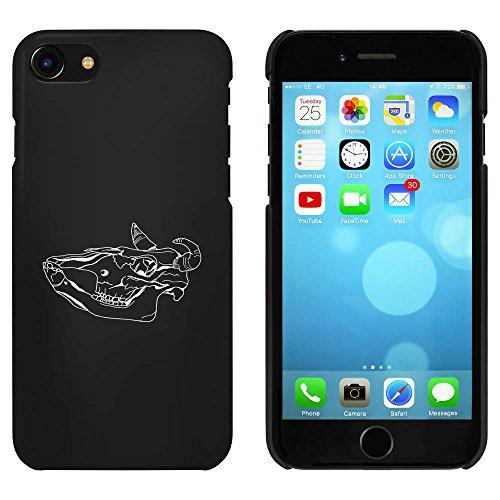 Noir 'Crâne d'Animal' étui / housse pour iPhone 7 (MC00067463)
